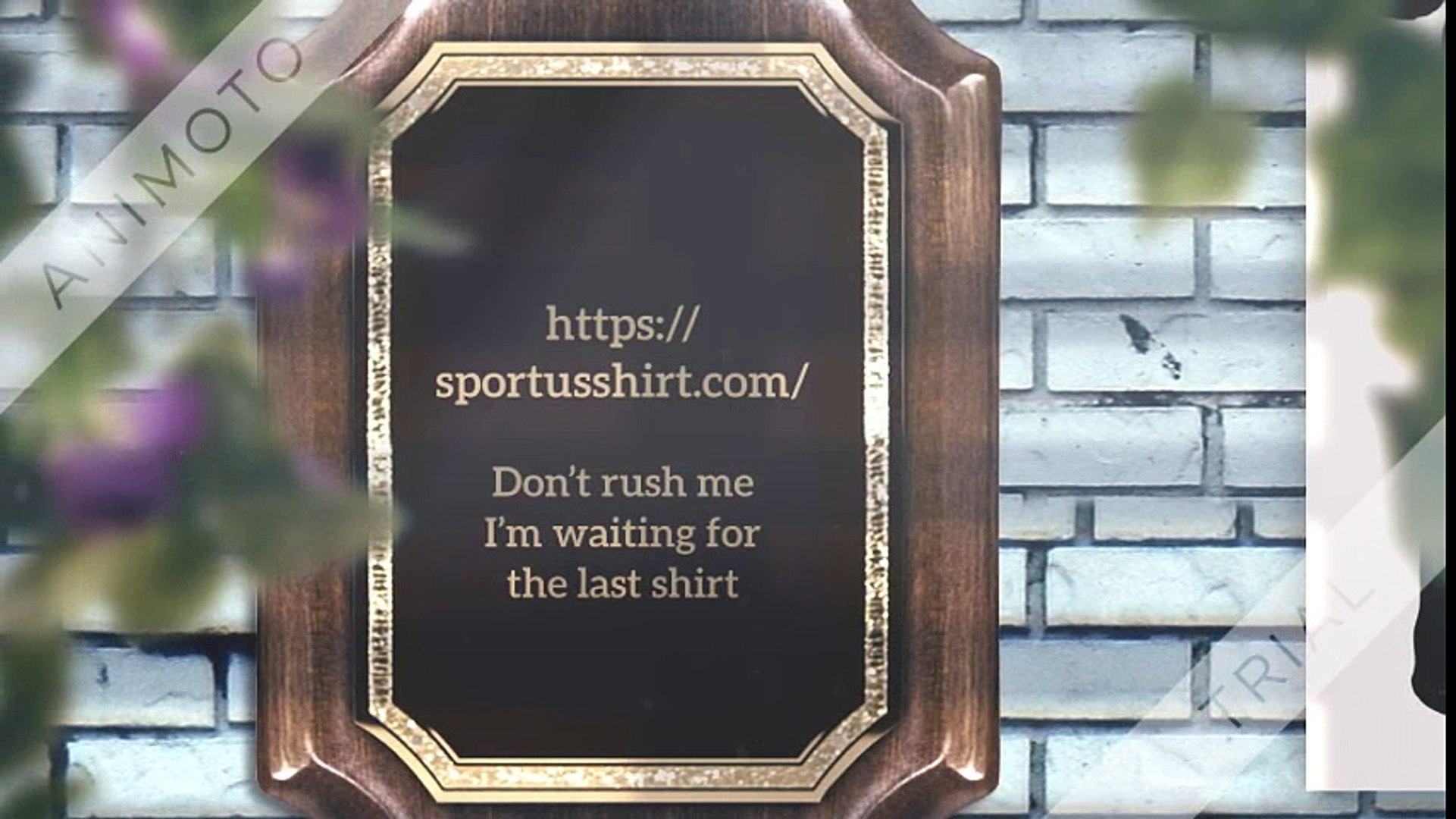 Don't rush me I'm waiting for the last minute shirt