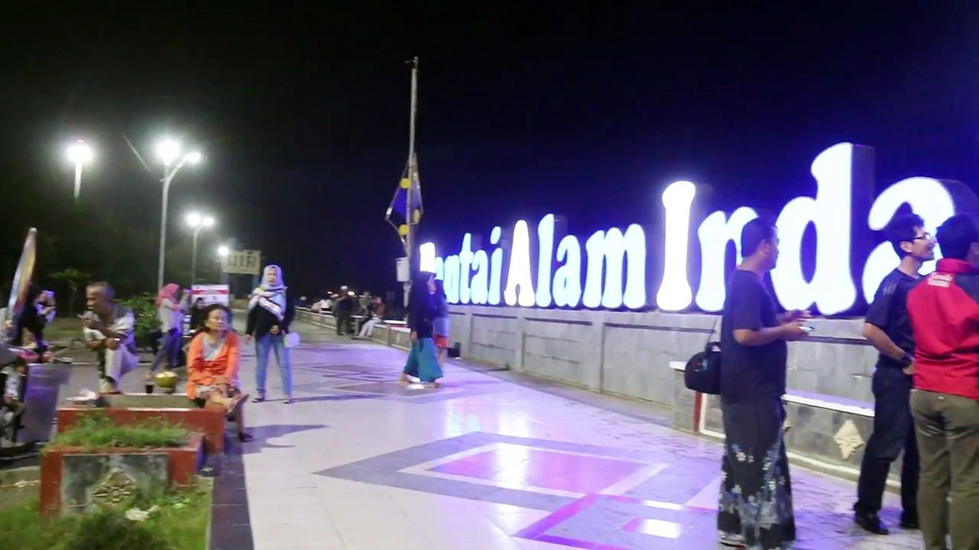 Liputan Super  Blue Blood Moon di PAI Kota Tegal