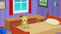 Cinq petit singe | Rimes pour bébés | enfants musique | Nursery Rhymes Songs | Five Little Monkey