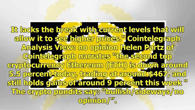 Ethereum $ETH Forecast: Thursday Edition