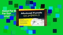 About For Books  Mutual Funds For Dummies (For Dummies Series) Complete