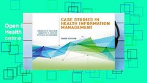 Open EBook Case Studies in Health Information Management online