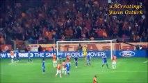 TRIBÜN CEKIMI | Aurelien Chedjou Gol Anı ve Öncesindeki Tezahürat Patlaması - Galatasaray - Chelsea