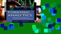 [book] Free Forensic Analytics  Methods and Techniques for Forensic Accounting Investigations