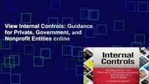 View Internal Controls: Guidance for Private, Government, and Nonprofit Entities online
