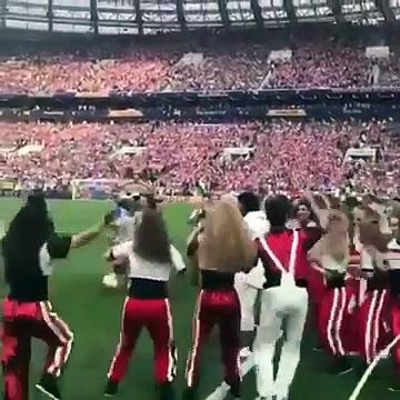 Ronaldinho at Fifa world cup 2018 Final