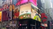 From Tavullia to New York! Oakley #CantStop #timessquare #Ranch
