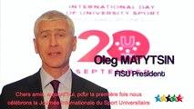 International Day of University Sport, 20 September