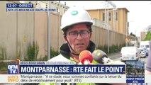 """Montparnasse: """"A ce stade, nous sommes confiants de la tenue du délai de rétablissement pour jeudi"""", assure RTE"""