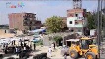محافظ الإسماعيلية ومدير الأمن يقودان حملة لإزالة التعديات على طريق البلاجات