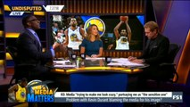 Undisputed: Skip and Shannon (7/27/2018) - Problem with Kevin Durant blaming the media for his image?