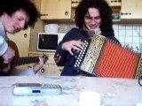 Toxicity - guitare et accordéon diatonique