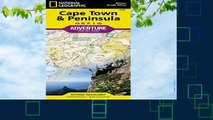 New Releases Cape Town   Peninsula, South Africa : Travel Maps International Adventure Map
