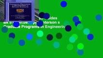 Readinging new Grad Guides Bk 5 Engineer/App (Peterson s Graduate Programs in Engineering