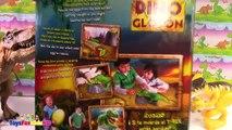 Los Dinosaurios para niños Dino Glotón Videos de Dinosaurios Juguetes de Dinosaurios ToysF