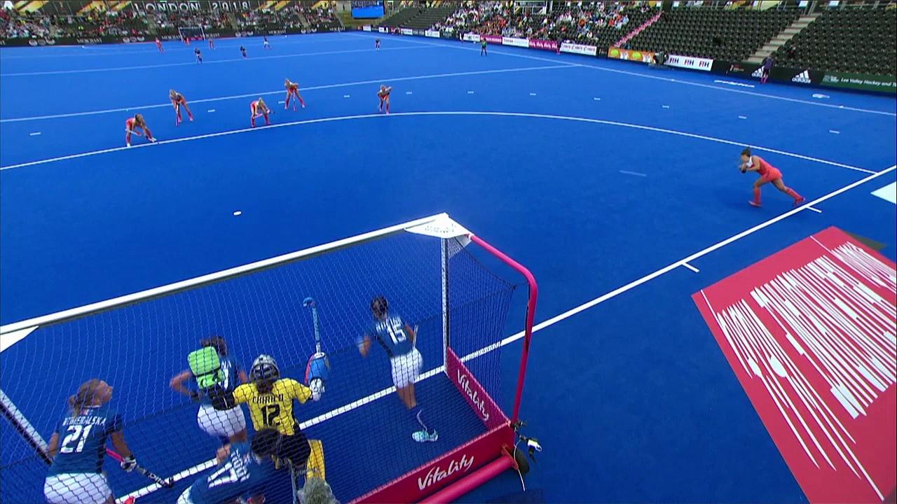 Netherlands v Italy   Women's Hockey World Cup   Highlights