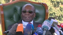 Mugabe says he will vote for the opposition in Monday's poll