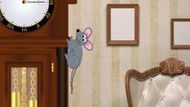 Hickory Dickory Dock | A Childs Favorite Hickory Dickory Dock Nursery Rhyme with LYRICS TOO!!