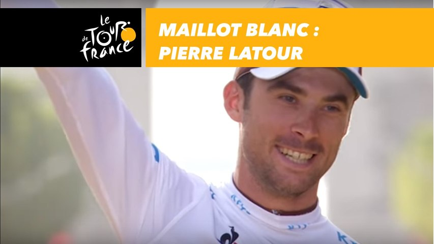 Maillot Blanc - Pierre Latour - Tour de France 2018