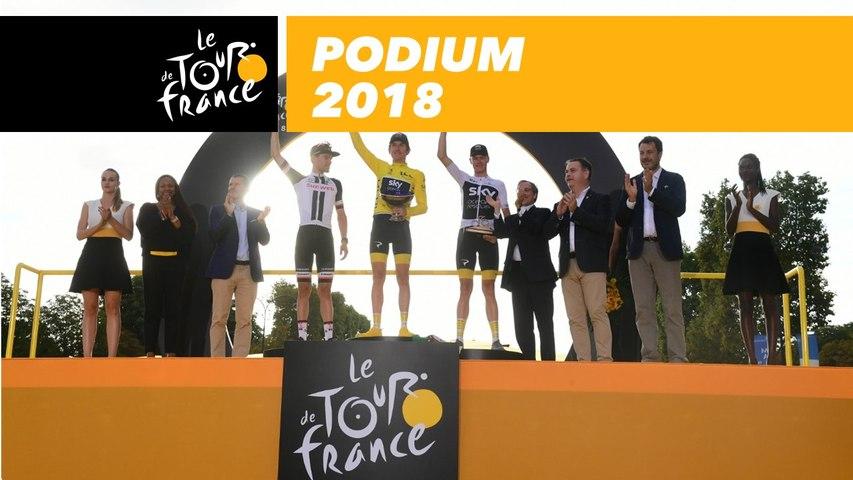Podium - Tour de France 2018