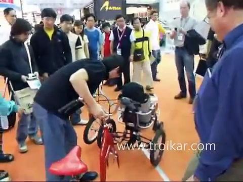 Multi purpose Transformer Tricycle TROIKAR