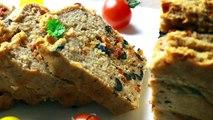 CAKE SALÉ VEGAN | OLIVES & TOMATES SECHÉES