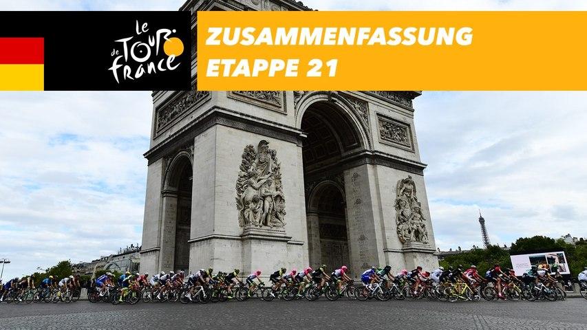 Zusammenfassung - Etappe 21 - Tour de France 2018
