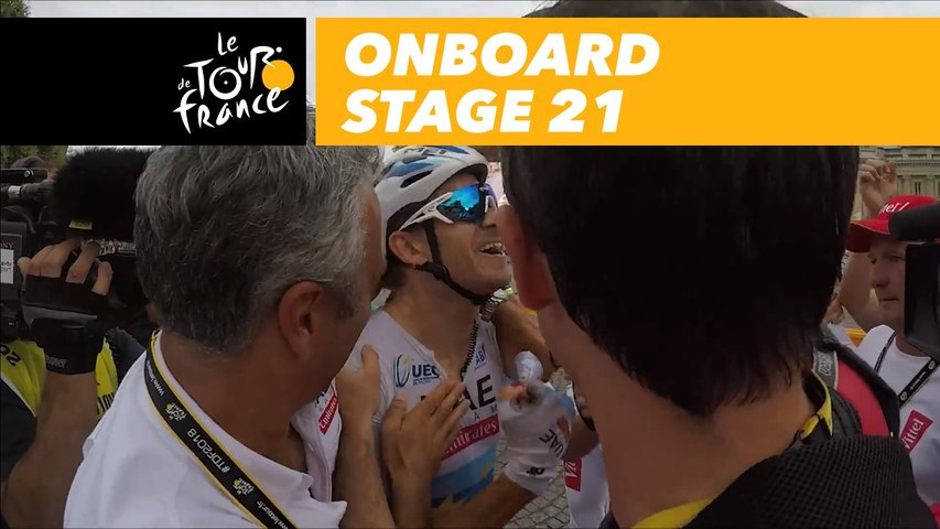 Onboard camera - Sequence of the day - Étape 21 / Stage 21 - Tour de France 2018