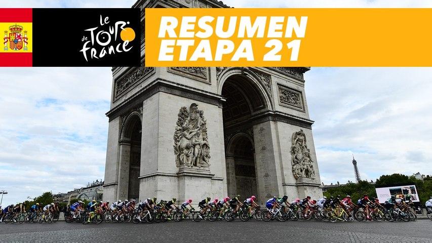 Resumen - Etapa 21 - Tour de France 2018