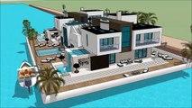 Boathouse Amsterdam Holland sims entertainment boathouse boat lift  Houseboat design 2018  Superyach