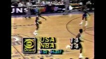 Non-NBA Michael Jordan Destroys NBA All-Stars! This Kid is Already The GOAT! (1984)