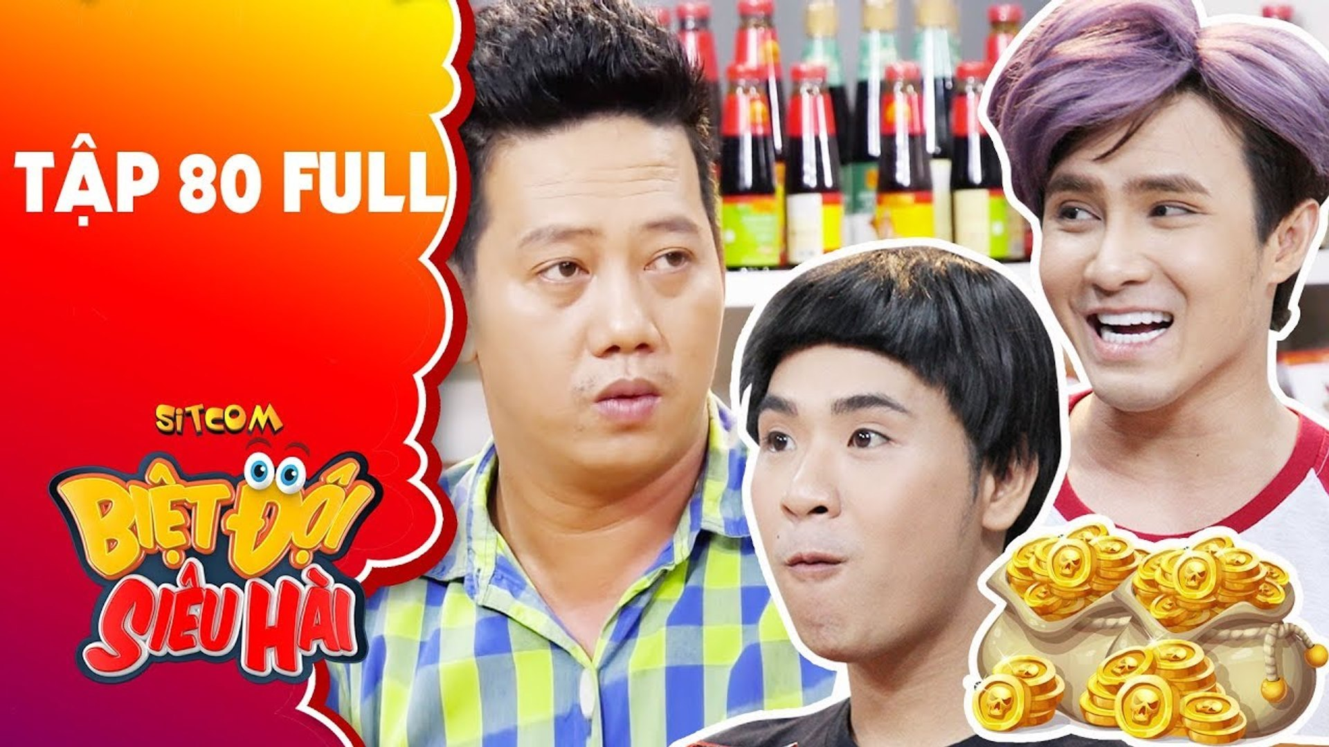 Biệt đội siêu hài   tập 80 full  Lê Nam xanh mặt với hội  đào mỏ  của Huỳnh Lập và Minh Ngọc