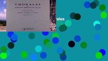 Best seller  Chorales: Chorales 1-91  Full
