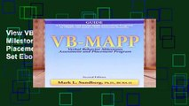 View VB-MAPP: Verbal Behavior Milestones Assessment and Placement Program, Full Set Ebook VB-MAPP: