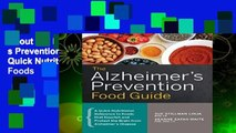About For Books  The Alzheimer s Prevention Food Guide: A Quick Nutritional Reference to Foods