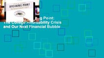 [book] New Breaking Point: The College Affordability Crisis and Our Next Financial Bubble
