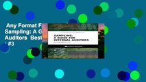 Any Format For Kindle  Sampling: A Guide for Internal Auditors  Best Sellers Rank : #3