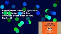 Favorit Book  Saving Capitalism: For the Many, Not the Few Unlimited acces Best Sellers Rank : #1