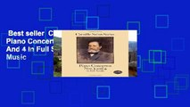 Best seller  Camille Saint-Saens: Piano Concertos Nos. 2 And 4 In Full Score (Dover Music