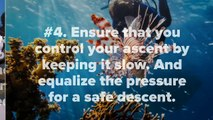 Scuba Diving Dangers: 5 Most Important Scuba diving Safety Tips