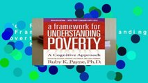 New Releases Title: A Framework for Understanding Poverty 5th Edition  For Kindle