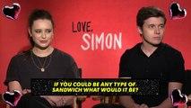 Katherine Langford & Nick Robinson Go SPEED DATING | MTV Movies