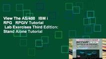 View The AS/400 IBM i RPG RPGIV Tutorial Lab Exercises Third