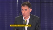 """Hollande : """"Je ne sais pas s'il fait sa rentrée, car je n'ai pas observé sa sortie"""" dit Olivier Faure"""
