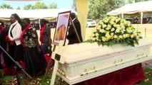 Uhuru Kenyatta Attends Sarah Kasaon's Funeral