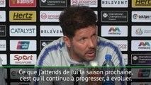 """Atlético - Simeone: """"J'attends de Griezmann qu'il progresse encore"""""""