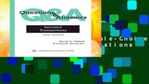 Best ebook  Questions   Answers: Secured Transactions, Multiple-Choice and Short-Answer Questions