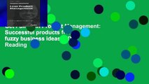 Get Full Lean Product Management: Successful products from fuzzy business ideas P-DF Reading