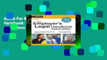 About For Books  The Employer s Legal Handbook: Manage Your Employees   Workplace Effectively