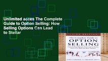 Unlimited acces The Complete Guide to Option Selling: How Selling Options Can Lead to Stellar